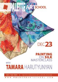 Painting on Silk Masterclass.