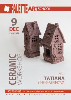 <b>Ceramic Workshop</b></br>with Tatiana Cheremisinova