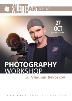 <b>Photography Workshop</b> with Vladimir Kevorkov