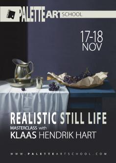 REALISTIC STILL LIFE MASTERCLASS WITH KLAAS HENDRIK HART