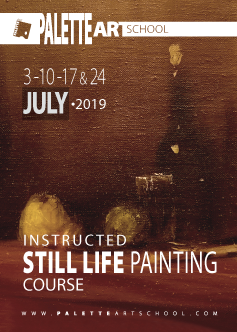 <b>Still Life Oil Painting Course<b><br><b>Instructed by Alexandr Kachkin.</b>
