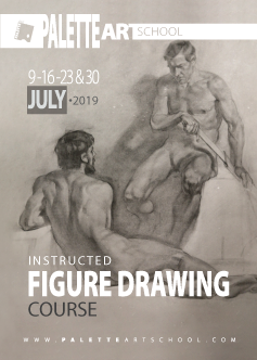 <b>Figure Drawing Course.<b><br><b>Instructed by Alexandr Kachkin.</b>
