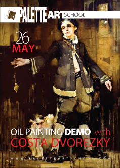 May 26, 2018.</br><b>Victorian-Themed Figurative DEMO with Costa Dvorezky.</b>