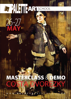 May 26 & 27, 2018.</br><b>Victorian-Themed Figurative MASTERCLASS with Costa Dvorezky.</b>