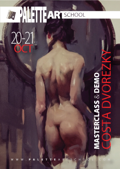 Alla Prima Oil-Painting <b>MASTERCLASS</b> with Costa Dvorezky.