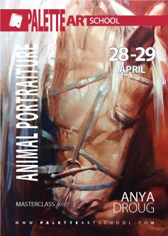 April 28 & 29, 2018</br><b>Animal Portraiture Masterclass with Anya Droug | Horses</b>