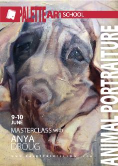 June 9 & 10, 2018</br><b>Animal Portraiture Masterclass with Anya Droug | Dogs</b>