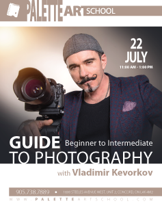 Guide to Photography with Vladimir Kevorkov (Beginner to Intermediate)