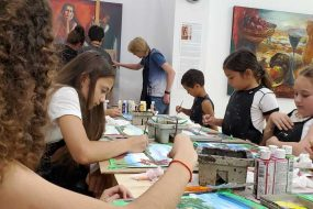 2019. Summer Art Camp at Palette Art School